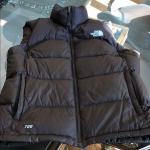 The North Face women's 700 vest